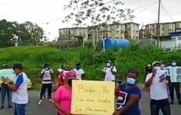Los residentes del área quieren trabajar en el programa de mejoras de unos 48 edificios en la provincia de Colón. Foto: Diomedes Sánchez