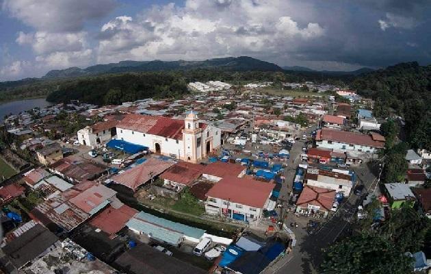 Las familias tienen muchos años residiendo en Portobelo. Foto: Diomedes Sánchez