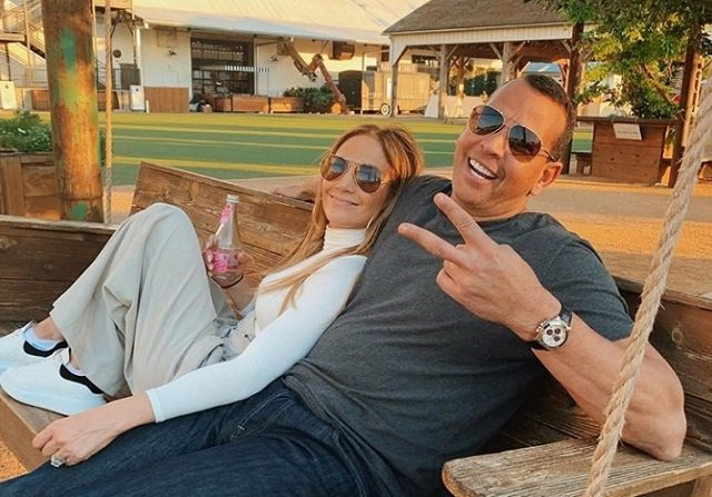 Jennifer López y Alex Rodríguez. Foto: Archivo