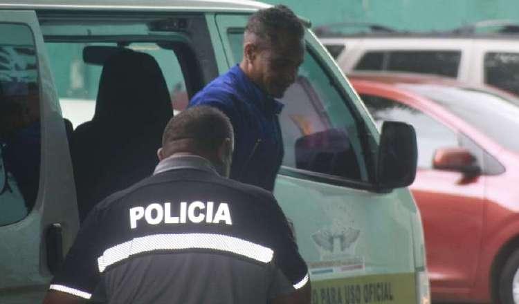 Manuel Domínguez Walker llegando al Órgano Judicial. Foto: Archivo