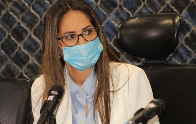Zulay Rodríguez cuestionó la labor del Mitradel en torno a este tema. Foto: Cortesía Asamblea Nacional