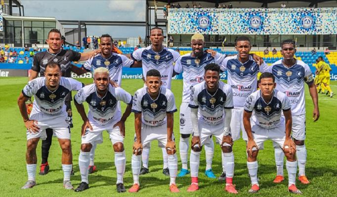 Veraguas está en la tercera casilla de la división este. Foto: Twitter