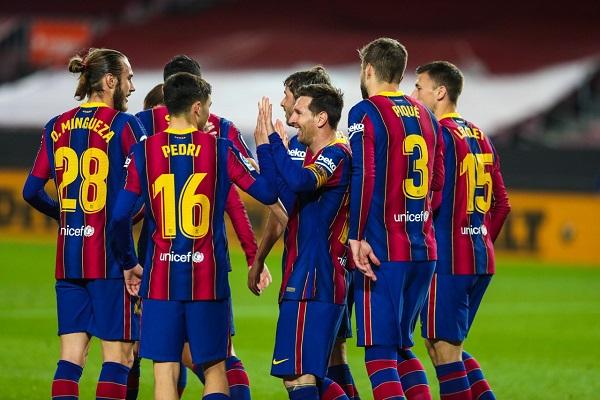Leo Messi anotó en dos ocasiones. Foto: Twitter