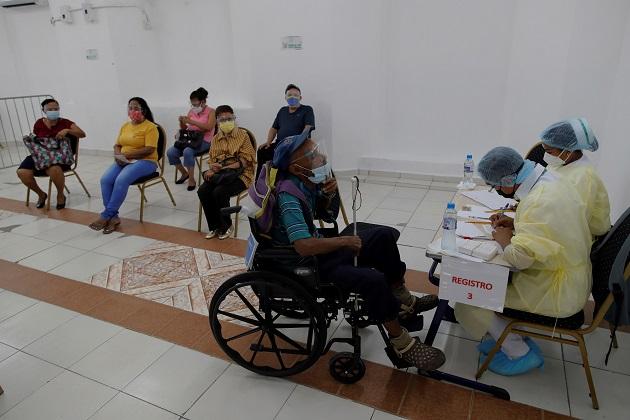 Panamá inició su proceso nacional de vacunación contra la covid-19 el pasado 20 de enero.
