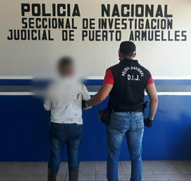 El detenido está pendiente de ser llevado ante un Juez de Garantías. Foto: Mayra Madrid