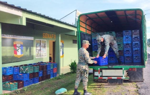 El Senafront mantiene una férrea vigilancia en el área fronteriza para combatir el contrabando y el narcotráfico. Foto: José Vásquez