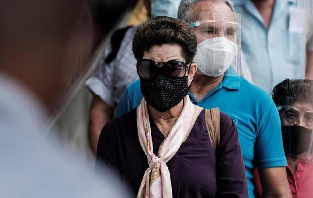 Costa Rica registró este sábado 1,840 nuevos casos de covid-19 en un día. Foto: EFE