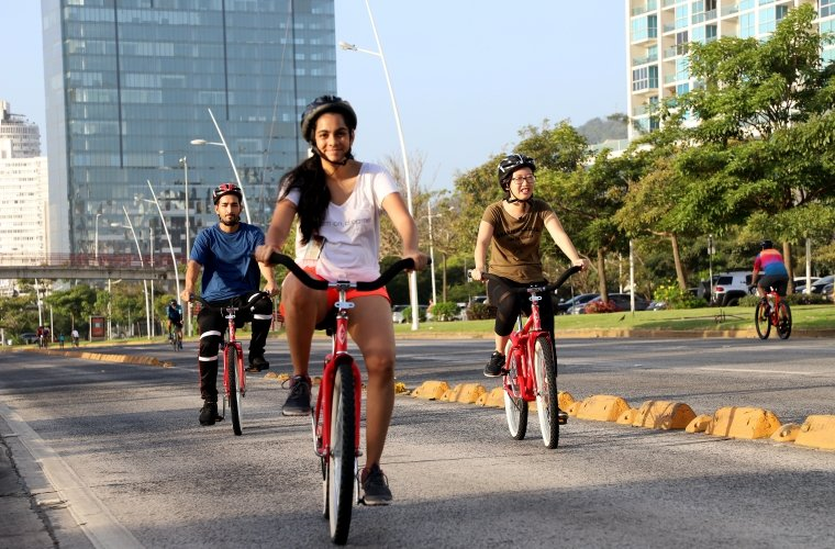 Aumentó la cantidad de personas que utilizan bicicletas en la ciudad de Panamá. Foto: Archivo