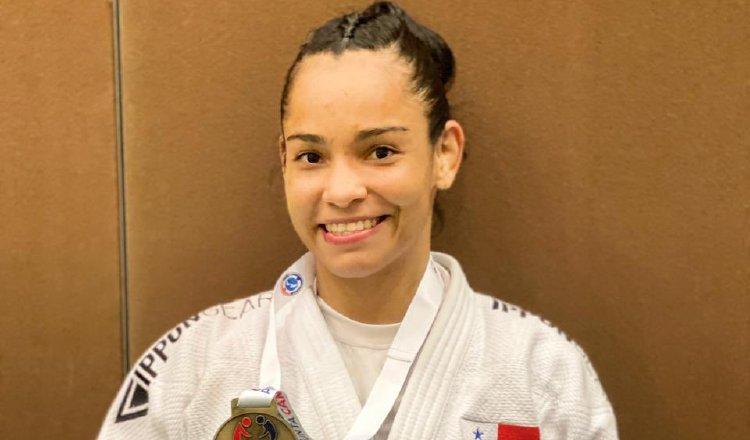 Kristine Jiménez continúa sumando puntos en la clasificación de su disciplina. @COlimpicoPanama