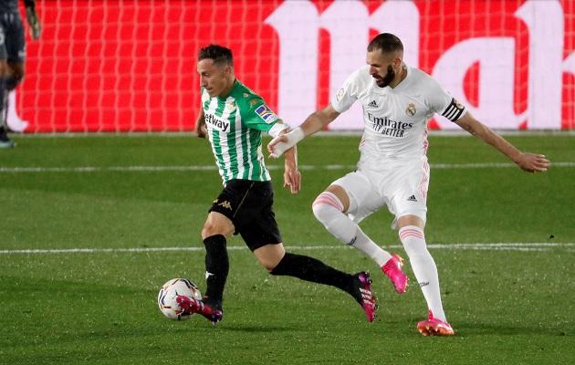 Real Madrid empató 0-0 con el Betis este sáado. Foto. EFE