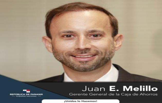 El economista Juan E. Melillo, es el nuevo gerente general de la Caja de Ahorros. Archivo
