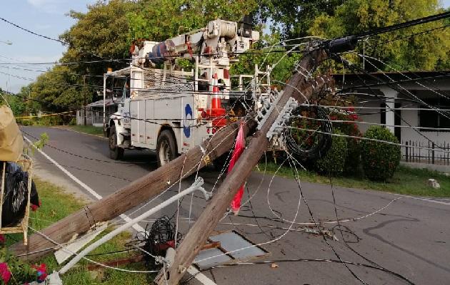 En el sector de Panamá Oeste los usuarios también tienen que lidiar con las fluctuaciones de energía. Foto. Eric Montenegro
