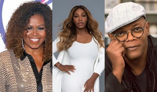 Michelle Obama, Serena Williams y Samuel L. Jackson, han sido víctimas de racismo. Foto: Instagram