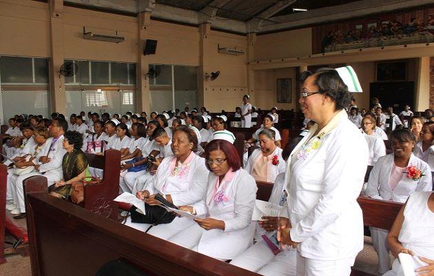 Las enfermeras iniciaron el paro de labores este miércoles a las 7:00 de la mañana.