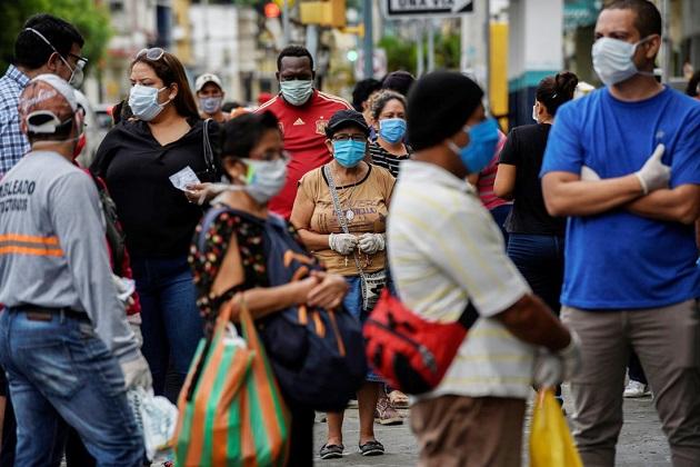 La OIT reunió a ministros de la región y representantes de trabajadores para abordar los desafíos que plantea la pandemia de la covid-19. EFE