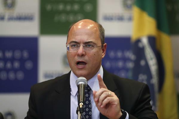 En la imagen, el gobernador de Río de Janeiro, el conservador Wilson Witzel. Foto: EFEEn la imagen, el gobernador de Río de Janeiro, el conservador Wilson Witzel. Foto: EFE