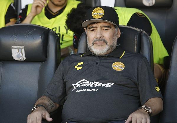 Diego Maradona falleció el 25 de noviembre de 2020 en un barrio de las afueras de Buenos Aires. Foto: EFE