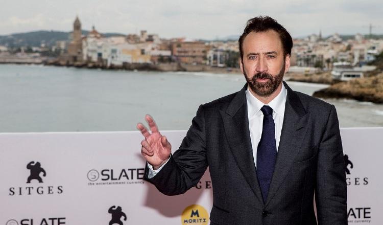 El actor estadounidense Nicolas Cage. EFE/Quique García
