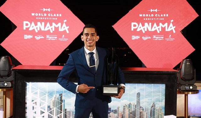 Ricardo Rojas, ganador de 'World Class Panamá'. Foto: Cortesía