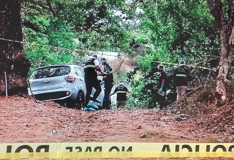 Se investiga quién es el propietario del automóvil. Foto: Thays Domínguez