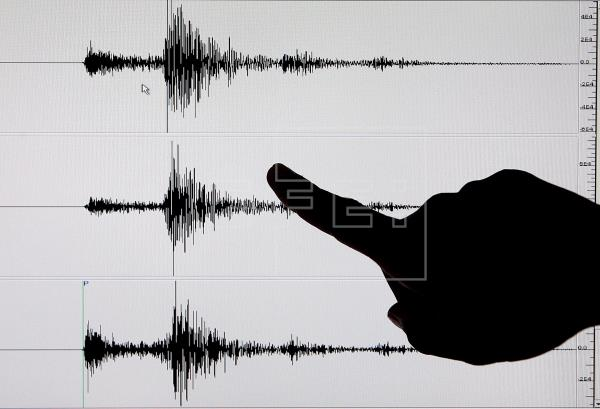 El terremoto se produjo con epicentro frente a la costa de la prefectura de Miyagi, Japón. Foto: EFE