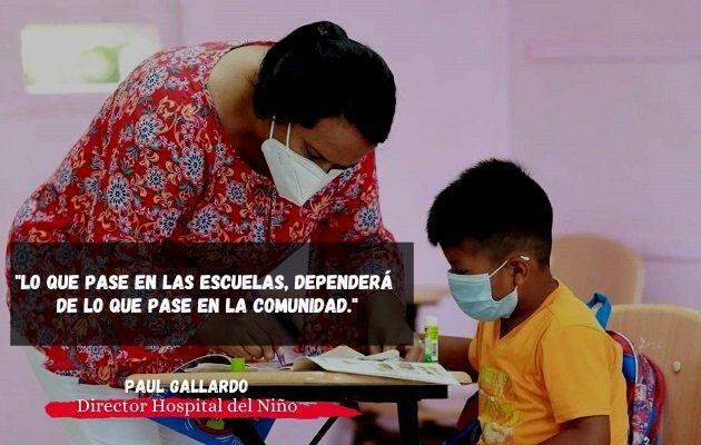 En el Hospital del Niño, desde el mes de marzo del 2020, se han diagnosticado 876 niños con covid-19. Foto: Archivos