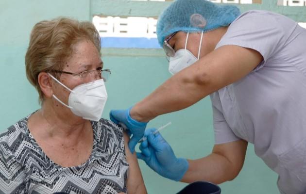 Culmina vacunación contra la covid-19 en Panamá Oeste. Foto: Cortesía Minsa