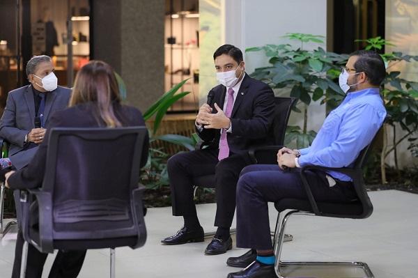 Viceministro de Finanzas, Jorge Almengor. Foto:Cortesía