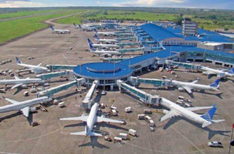 Por ser el Hub de las Américas, Panamá recibe gran cantidad de vuelos.
