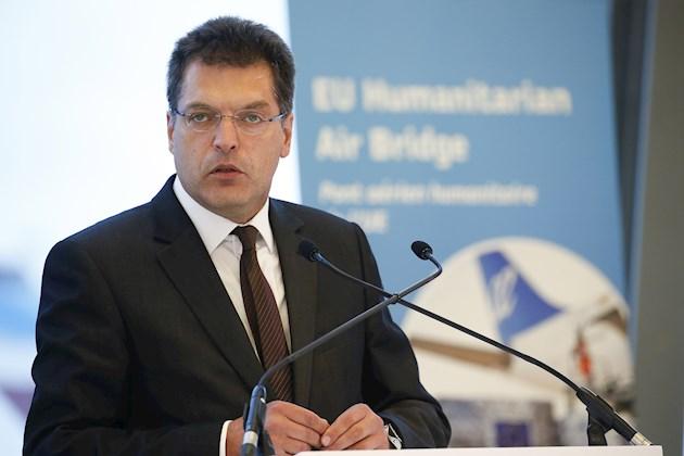 El comisario de Ayuda Humanitaria y Gestión de Crisis, Janez Lenarcic. Foto: EFE