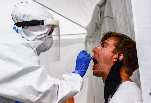 Alemania registra una desaceleración de contagios y muertes por coronavirus. Foto: EFE