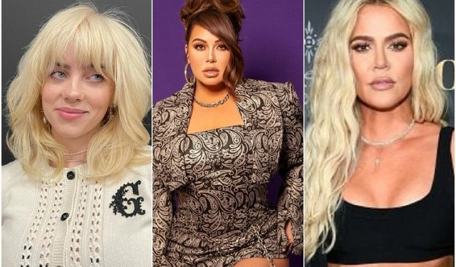 Billie Eilish, Chiquis Rivera y Khloé Kardashian han alzado su voz contra el 'body shaming'. Fotos: Instagram