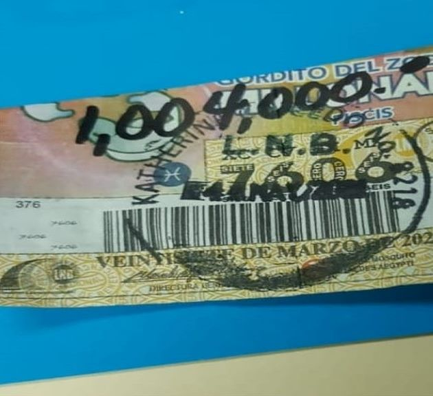 La ganadora del millón 4 mil de dólares pidió reserva de sus identidad, informó la Lotería Nacional de Beneficencia. Cortesía: LNB