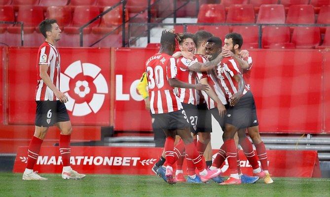 Iñaki Williams anotó el gol del triunfo para el Athletic Club. Foto: Twitter