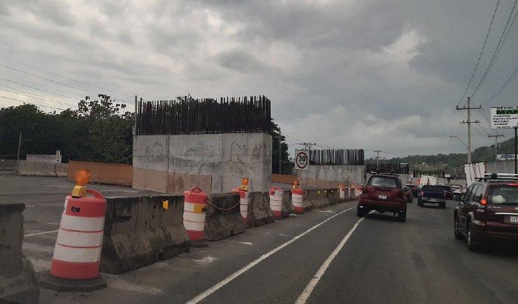 Después de tres años de construcción, este es el avance del proyecto vial. Foto: Francisco Paz