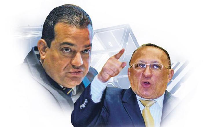 Luis Ernesto Carles y Alcibiades Vásquez. Archivo