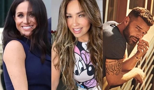 Meghan Markle, Thalía y Ricky Martin, son algunos de los famosos que han escrito obras infantiles. Fotos: Instagram