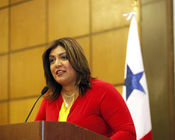Farah Urrutia, representante estatal de Panamá.EFE