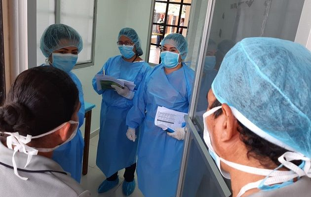 El Minsa informa que se está haciendo la trazabilidad de las personas que tuvieron contacto con este paciente. Archivo
