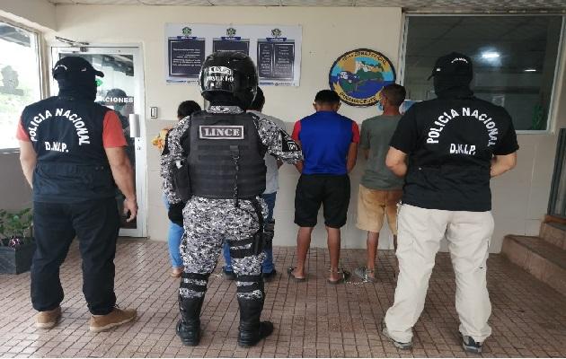 En las próximas horas los detenidos enfrentarán a un Juez de Garantías. Foto: Eric Montenegro.