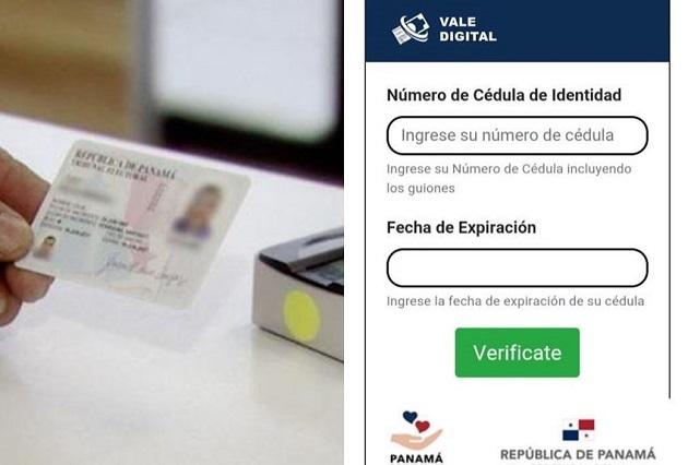 El vale digital se transfiere a los ciudadanos a través de la cédula de identidad personal.