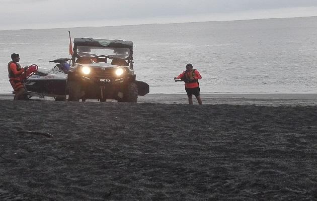 Los miembros de la Fuerza de Tarea Conjunta y el Sinaproc, realizaron las labores de búsqueda. Foto: Eric Montenegro