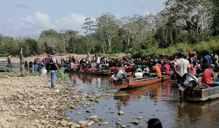 En los últimos años, Panamá se ha vuelto el paso preferido de miles de migrantes que buscan llegar a los Estados Unidos. Archivo