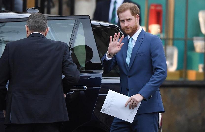 Príncipe Harry. EFE