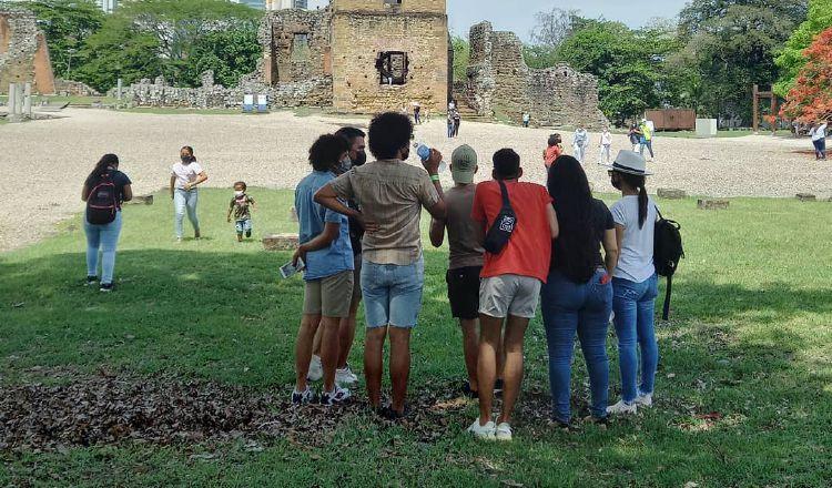 Museo del Sitio Arqueológico de Panamá Viejo, forma parte de la Ruta Mes de los Museos 2021. @sitioarqueologicopanamaviejo
