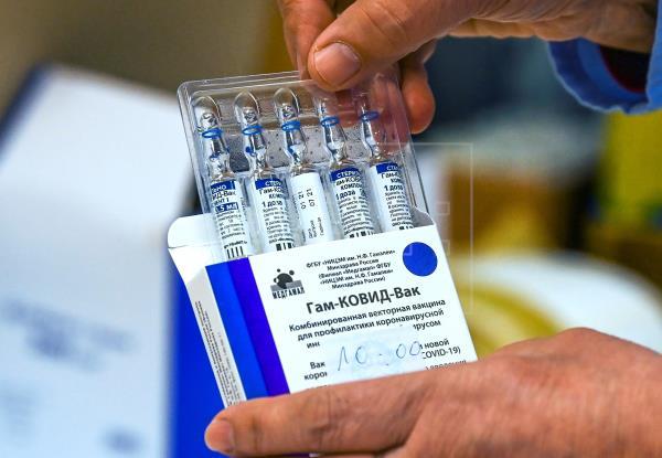 Panamá aprobó, en abril pasado, el uso de emergencia de la vacuna Sputnik V. Foto: EFE