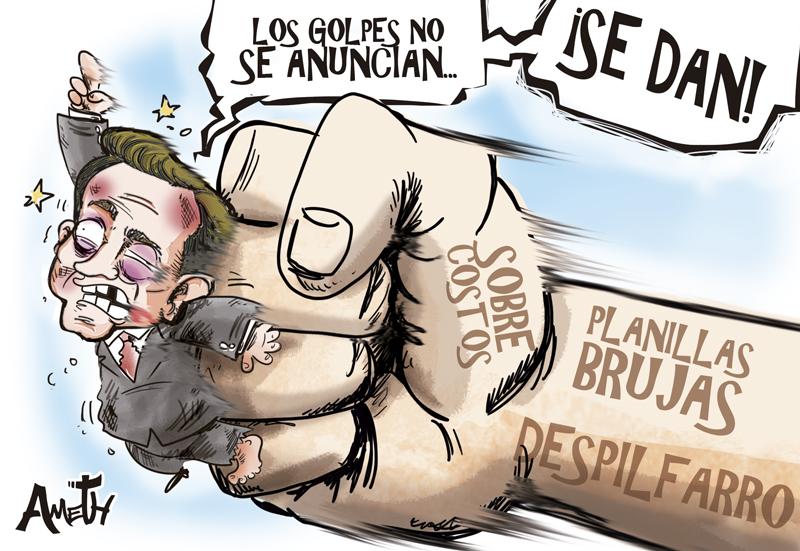 Caricatura Panamá América.