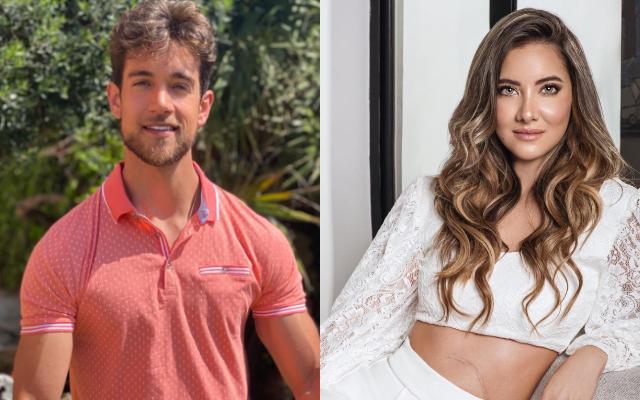 Leonard Vanderaa y Daniella Álvarez. Fotos: Instagram
