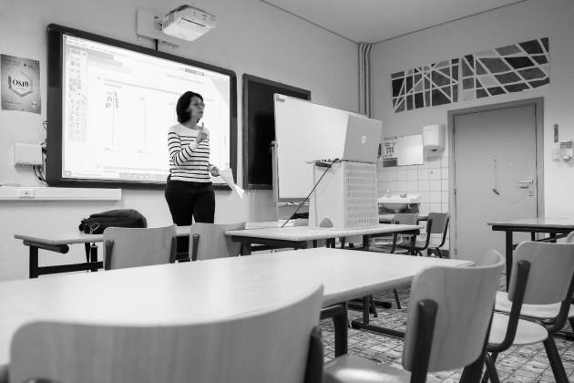 El docente es un ente de cambio social poderoso, su trabajo es lograr que cada persona use al máximo su potencial y para hacer eso se debe ser constructivo, que aporte al cambio que esperamos para Panamá. Foto: EFE.