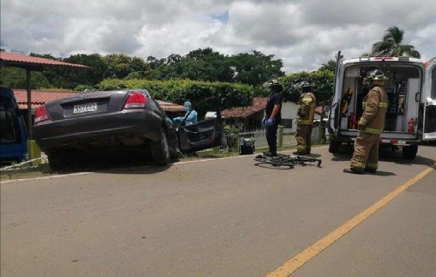 El accidente ocurrió el 20 de septiembre de 2020. Foto: Thays Domínguez